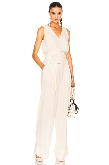 Crepe Sable Jumpsuit