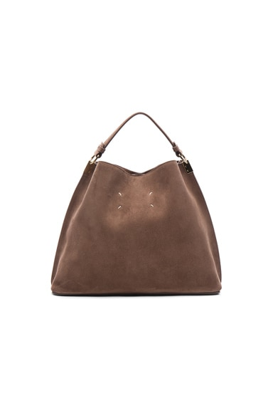 Velour Leather Bag