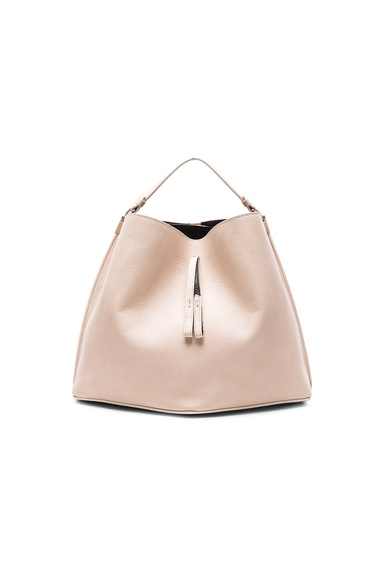Maison Margiela Leather Bag in Beige & Black