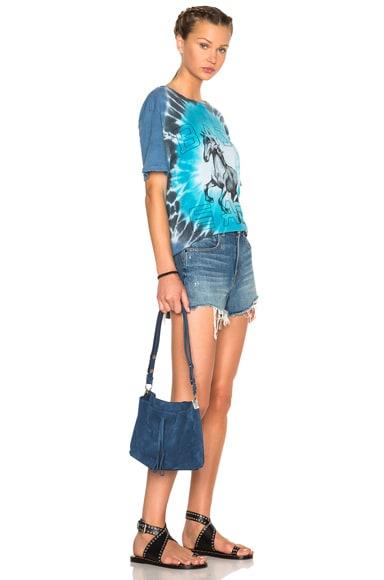 Velour Leather Bag
