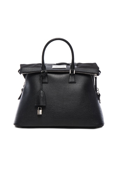 Maison Margiela Large Handbag in Black