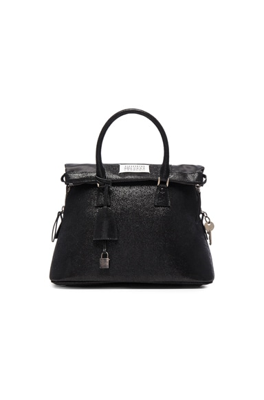 Maison Margiela Glitter Bag in Black