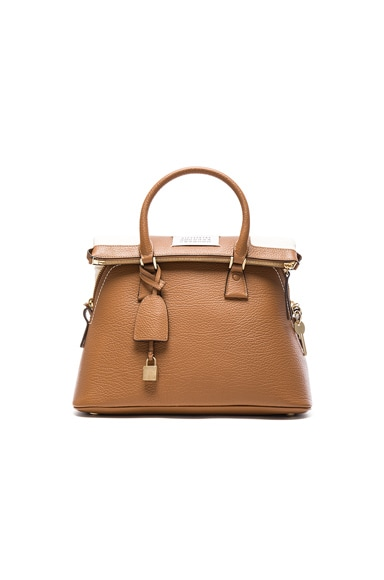 Maison Margiela Foldover Bag in Butter & Camel
