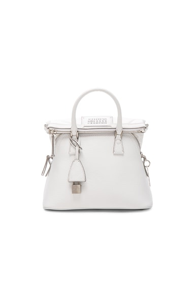 Maison Margiela Leather Bag in White