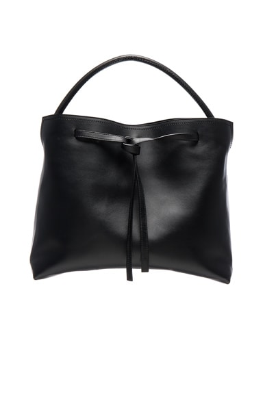 Maison Margiela Leather Bag in Black
