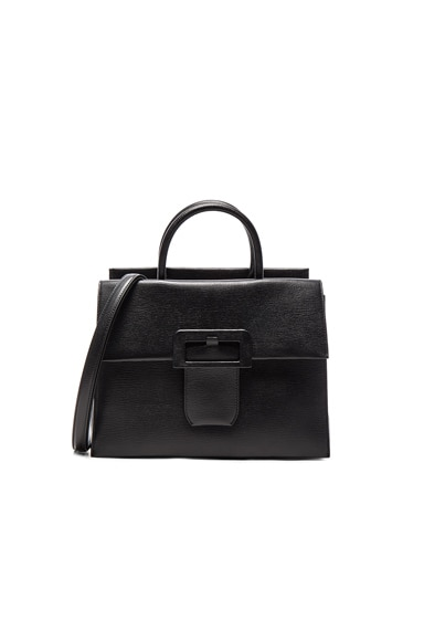 Maison Margiela Buckle Bag in Black