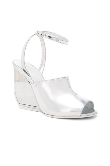 Mirror Leather Heels