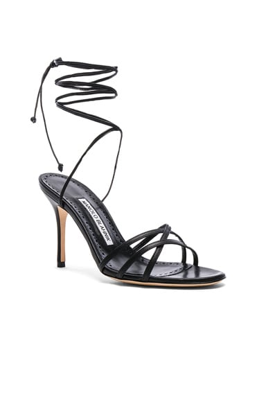 Leather Leva 90 Sandals
