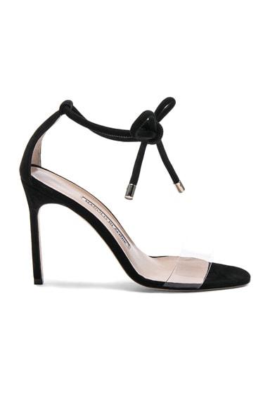 Suede Estro 105 Sandals Manolo Blahnik