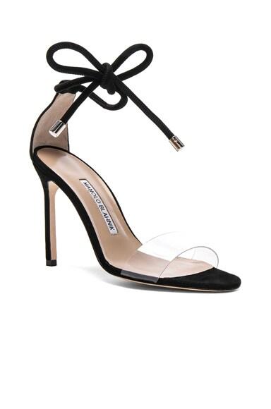 Suede Estro 105 Sandals
