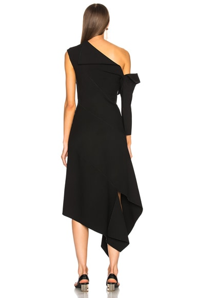 Double Faced Wool Dress