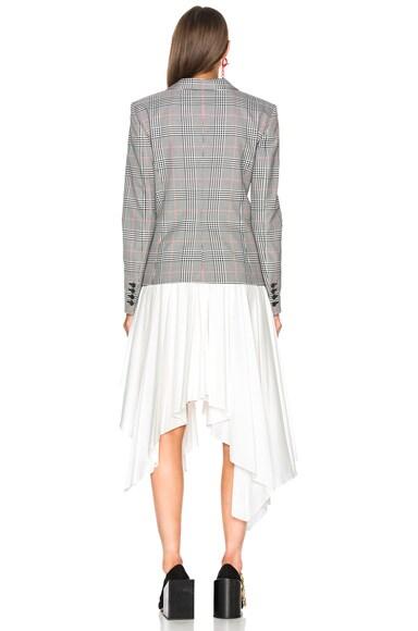 Glen Plaid Jacket Dress