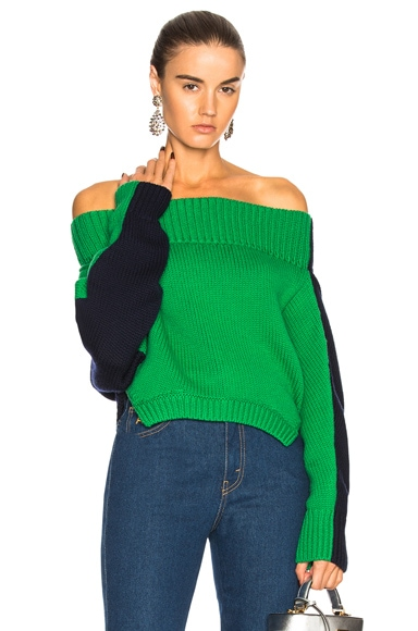Upside Down Cropped Sweater
