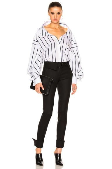 Stretch Tuxedo Wool Pant
