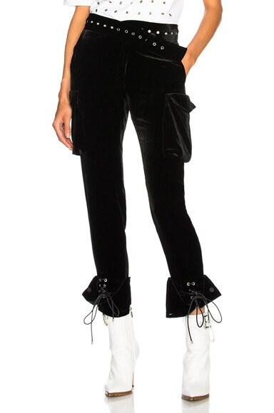 Velvet Cargo Pant