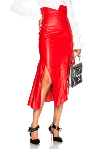 for FWRD Leather Skirt