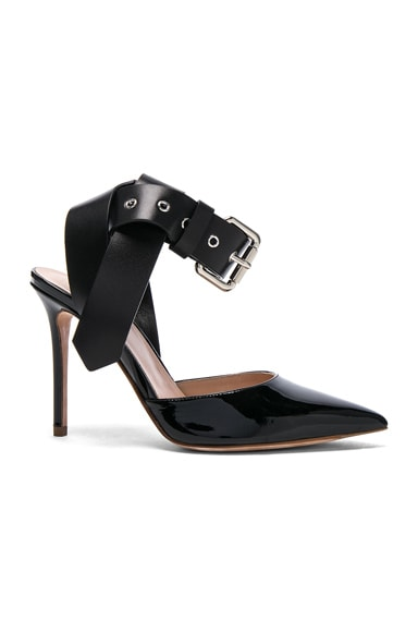 Monse Patent Leather Heels in Black