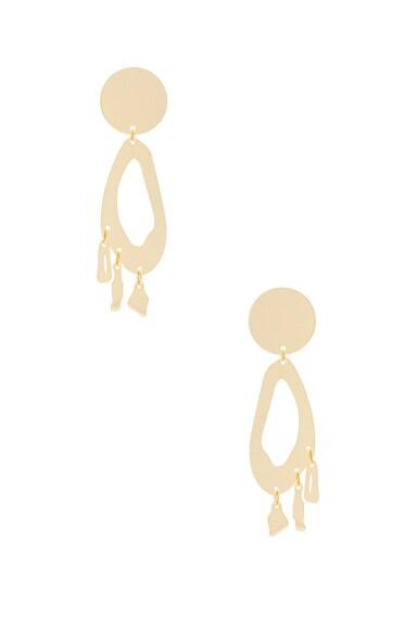 Lobe Chandelier Earrings