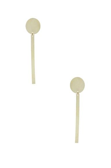 Sundial Earrings