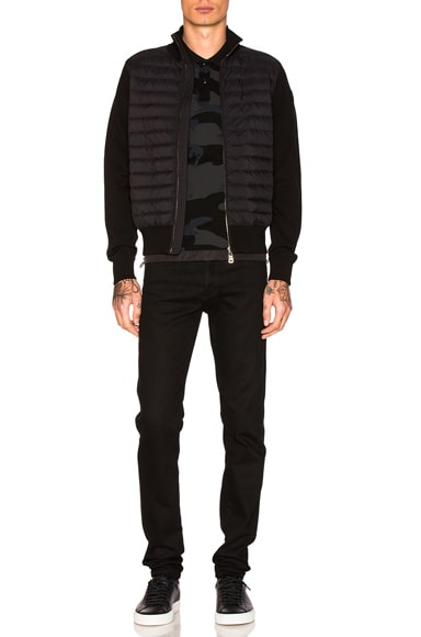 Maglia Zip Sweater