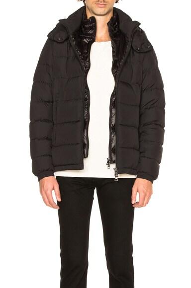 Moncler Brique Jacket in Black