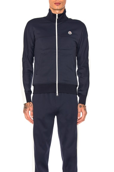Moncler Zip Jacket in Navy