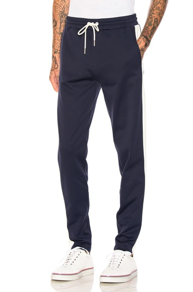 Moncler Track Pants in Navy