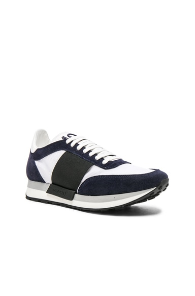 Moncler Horace Sneakers in Navy & White