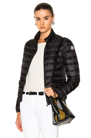 MONCLER Lans Polyamide Jacket in Black