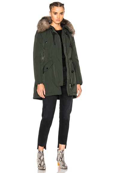 Moncler Aredhel Giubbotto Jacket in Green