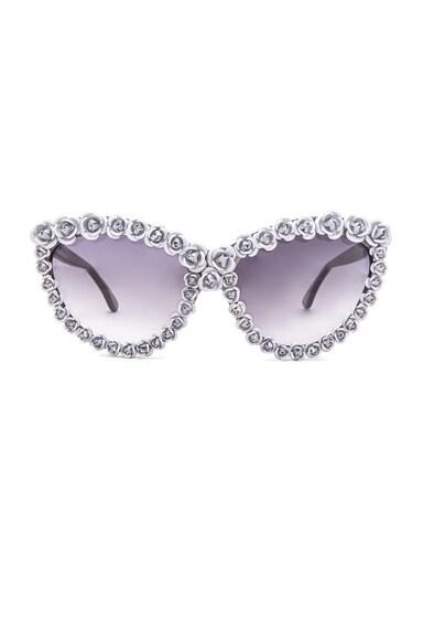 A-Morir Ellen Sunglasses in Silver
