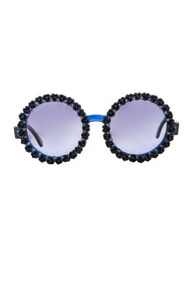 A-Morir Janine Sunglasses in Blue