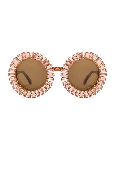 A-Morir Nellee Sunglasses in Rose Gold