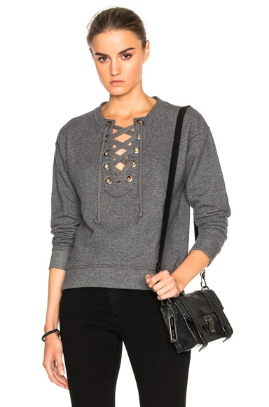 Tie Up Easy Sweatshirt