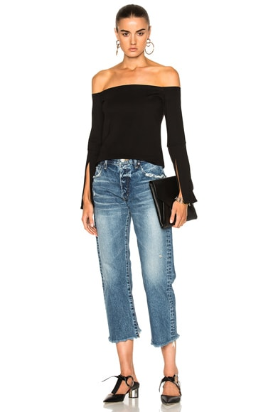 Madison Cropped Straight