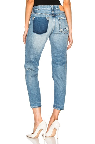 Moussy Erlanger Tapered in Blue