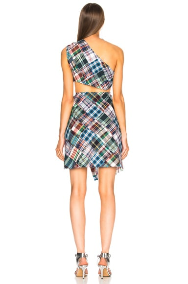 for FWRD One Shoulder Cut Out Dress