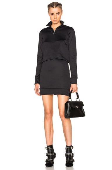 Marques ' Almeida Sweater Dress in Black