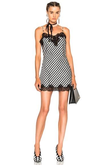 Marques ' Almeida Slip Dress in Black & White