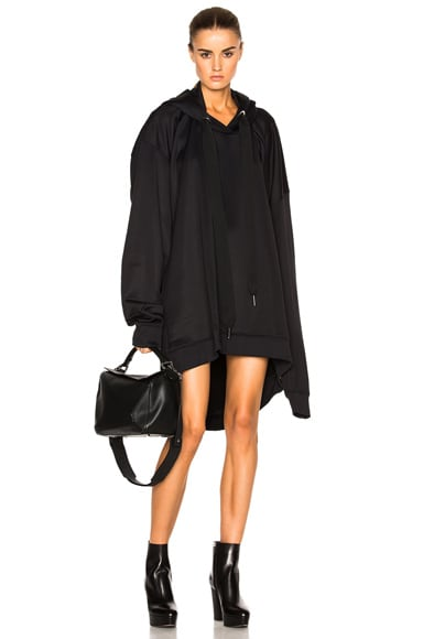 Marques ' Almeida Oversized Hoodie in Black