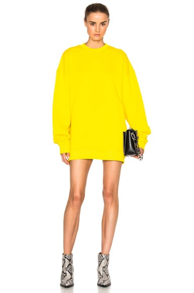 Marques ' Almeida High Neck Top in Yellow