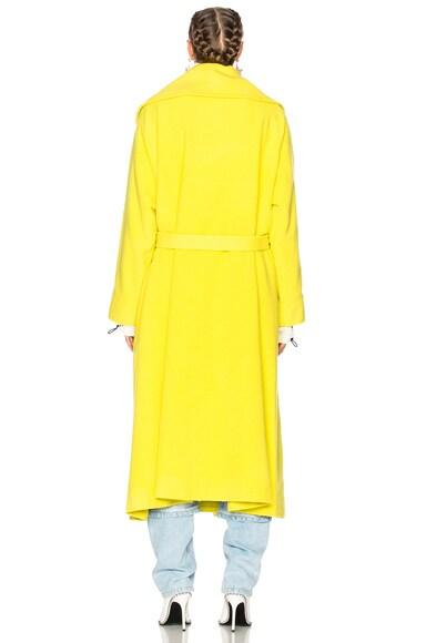 Brushed Wool Oversize Coat