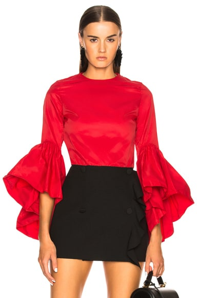 Oyster Sleeve Top