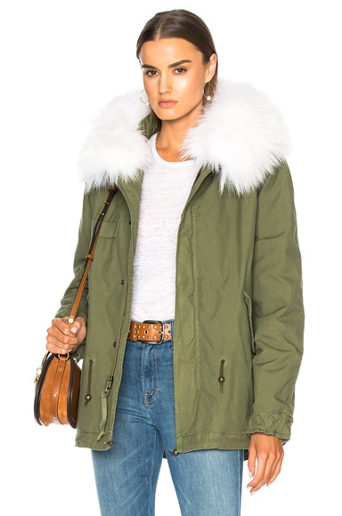 Mini Parka With Sheep Fur