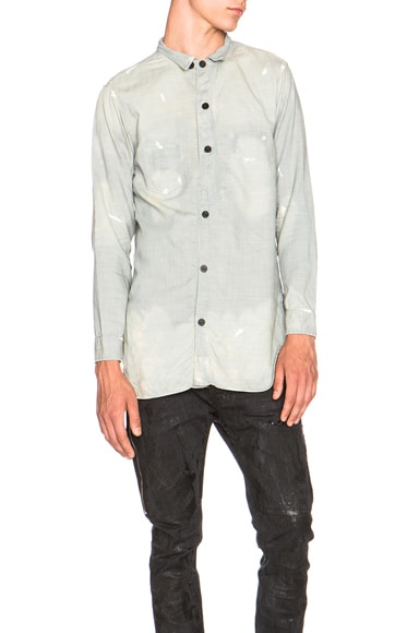 Mr. Completely Chambray Shirt in Light Wash