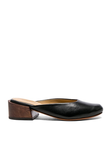 Leather Leblon Mules