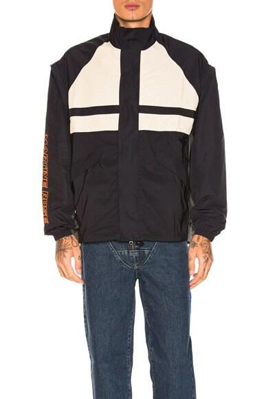 Paneled Sports Jacket