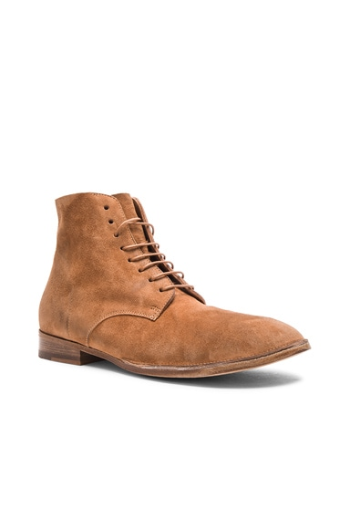 Marsell Lace Up Boots in Brown