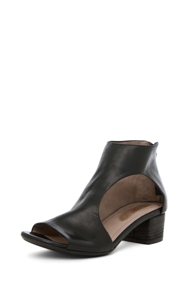 Bo Leather Booties