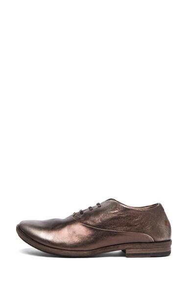 Se Metallic Leather Oxfords
